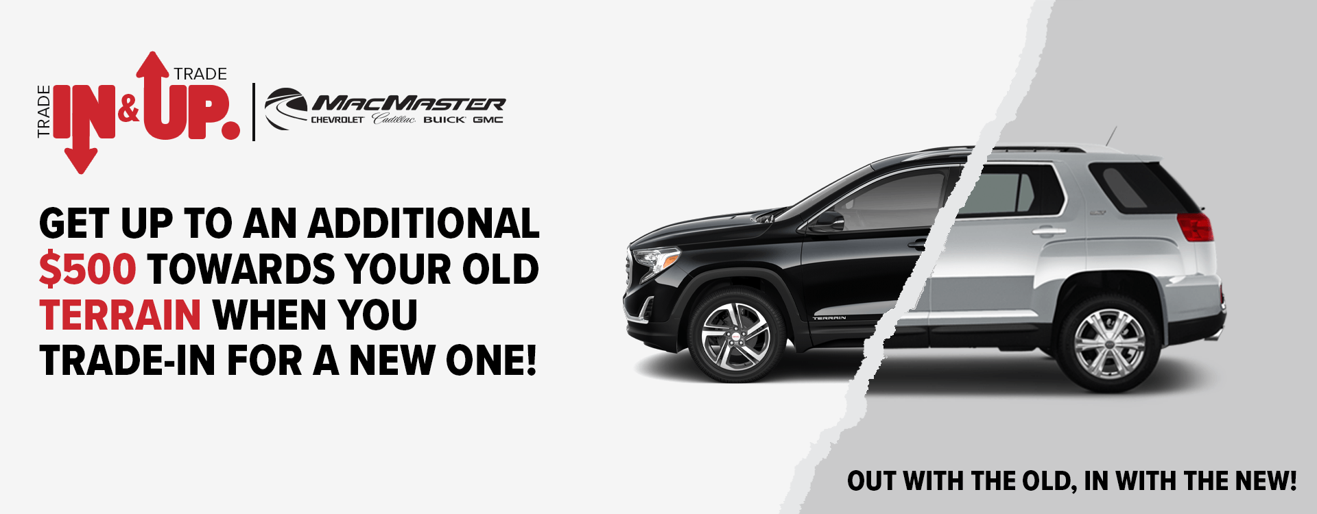 Trade In & Trade Up | MacMaster Chevrolet, London ON